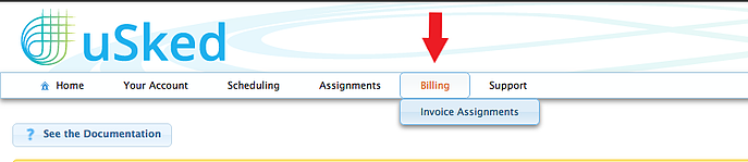 Invoice Assignments Path