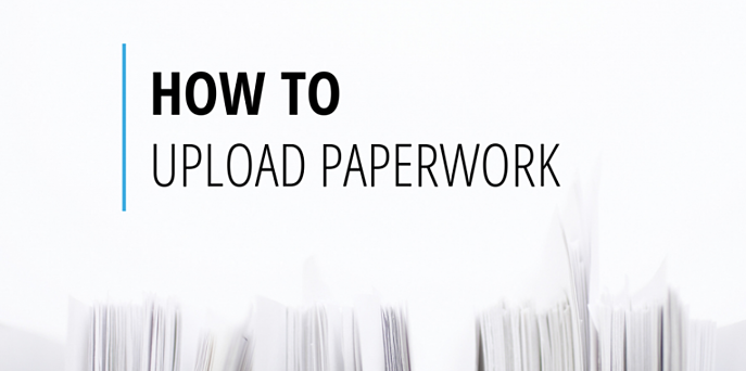 how to upload paperwork