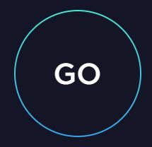 go button from speedtest.net
