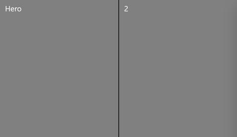 2x1 grid view