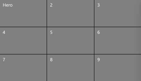 3x3 grid view