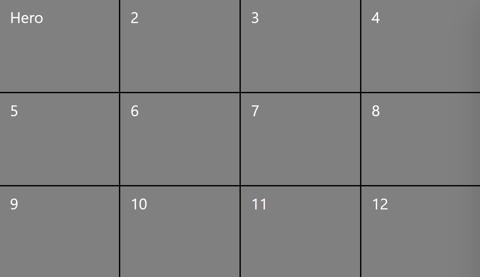 4x3 grid view