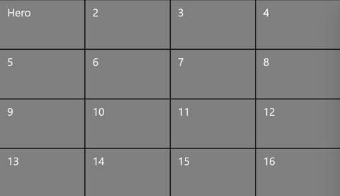 4x4 grid view