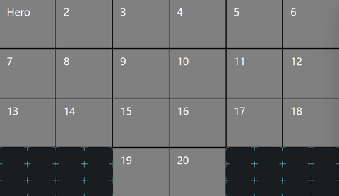 6x4 grid view