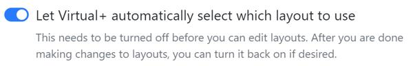 v+ auto select layout 5.11.2020
